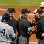 Fight to the finish: Yankees fall to O's