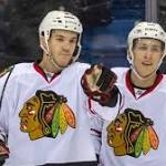 Blackhawks overpower Oilers in Saskatoon