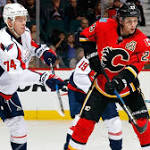 Flames finish homestand with setback to Capitals