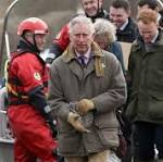 Prince Charles Visits Flood-Hit Communities On The Somerset Levels