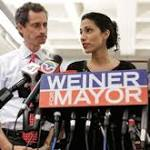 Weiner says he's hurt his wife