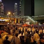 Hong Kong chief says protesters making 'impossible' demands