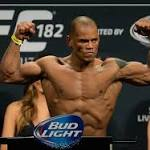 Hector Lombard tested positive for steroids at UFC 182