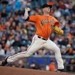 Giants starter Matt Cain gets pounded as Orioles come out slugging