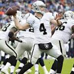 Raiders gave surging Derek Carr what Texans never gave his brother