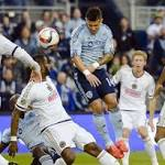 Own-goal by Philadelphia defender lifts Sporting KC to 3-2 win