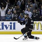 NHL Capsules: Sharks tie series with 2-1 win over Kings