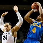 Powell leads UCLA over Oregon 72-63 to gain 2nd-place tie