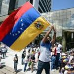 Locals rally in support of Venezuelan protests
