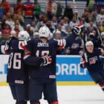 USA beats Swiss in world championships quarterfinals