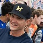 Harbaugh: 'In my America,' UM can cross state borders