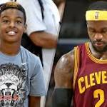 LeBron James and son in an NBA game? Idea isn't as far-fetched as it sounds