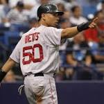 Dismal pro debut helped Mookie Betts reach center stage on Opening Day
