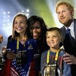 Prince Harry and Michelle Obama open Invictus Games for wounded veterans