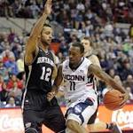 UConn Men Need Second-Half Rally To Beat Bryant