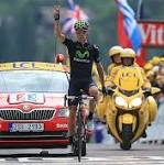 Rui Costa wins 19th stage of Tour de France
