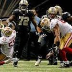 Frank Gore, 49ers running game, key overtime win over Saints