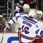 Penguins fall to Rangers, 5-2
