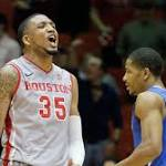 Danuel House leads Houston over No. 21 Memphis, 77-68