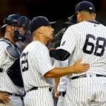 Yankees' Dellin Betances nearly blows game after heated mound meeting with manager