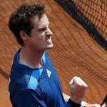 Davis Cup: Andy Murray beaten by Fabio Fognini as Italy level semi-final at 2-2
