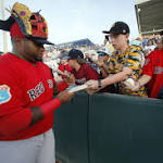 Quentin, Mauer homer as Twins beat split-squad Red Sox 8-6