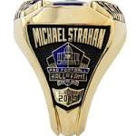 Here's the ring Michael Strahan will receive at halftime of the Giants game ...