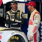 Who's More Disappointed After Elimination: Dale Earnhardt Jr. or Jimmie ...