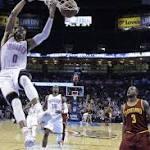 Oklahoma City Thunder: Reggie Jackson's production naturally going down