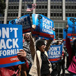 Oil companies frack in coastal waters off Calif.
