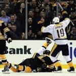 Bruins Wrap: Boston's Offense Goes Silent In Home Loss To Predators