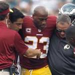 NFL injuries: Danny Woodhead, DeAngelo Hall out for season