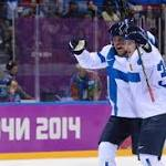 Finland tops US , 5-0, to win Olympic hockey bronze