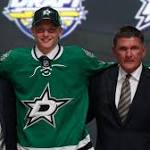 Stars pick left wing Riley Tufte in first round of NHL draft