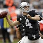 Del Rio: Derek Carr can learn from fourth-quarter mistakes