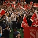Spain's Socialists battle new group for control of the left