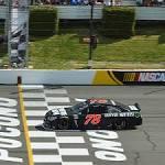 Truex Jr. breaks through with win at Pocono