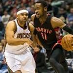 Ross leads Raptors over Bucks
