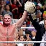 8/18 Powell's WWE Raw Live Coverage: Brock Lesnar presented with a new ...