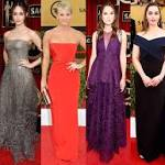 Gowns By Age at the 2015 SAG Awards: See How Stars in Their 20s, 30s, 40s ...