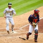 Oakland A's rout Houston Astros 11-2