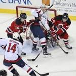 Oshie, Ovechkin convert in shootout; Capitals top Devils 3-2