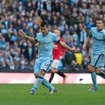 City beat United 10 through 2ndhalf Aguero goal