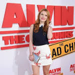 Alvin! Bella Thorne on the 'Road'