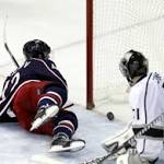 Kings' struggles on road continue in 5-3 loss to Blue Jackets
