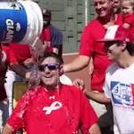 Ice bucket challenge takes city by storm