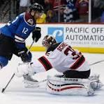 Colorado defeats the New Jersey Devils in a shootout