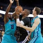 Warriors use polished offensive effort to roll over Hornets