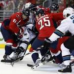 NHL roundup: Sharks finish off Capitals in shootout