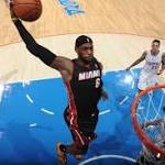 LeBron James rewards Miami Heat coach Erik Spoelstra's faith with game-winner